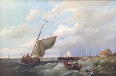 Kunstenaar Pieter C. Dommersen nr.A6729, Pieter Cornelis Dommersen,