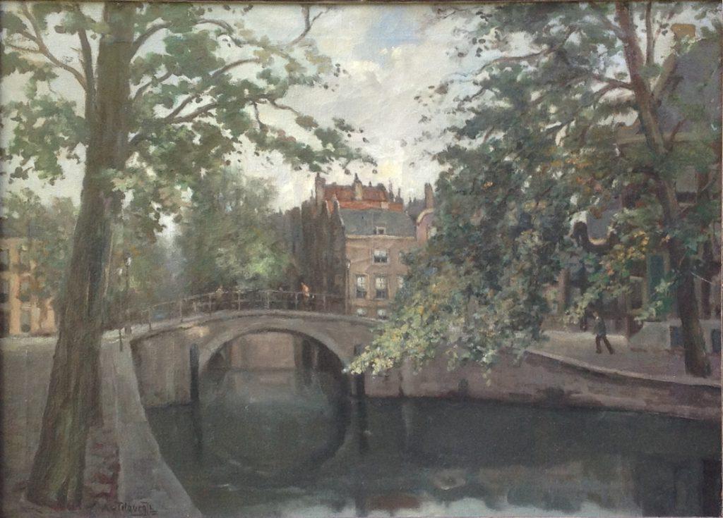 Kunstenaar A. van Tilburg A7651, A. van Tilburg