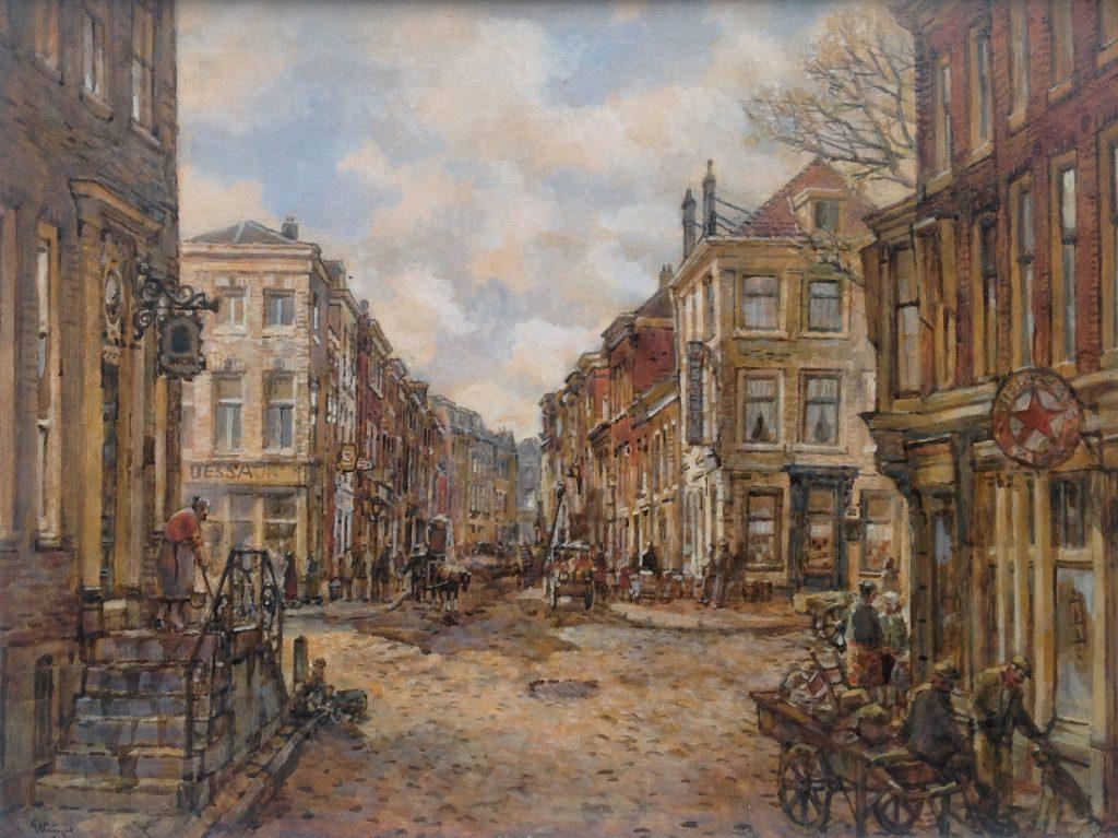 Kunstenaar B.C. van Ettinger A8145, B.C. van Ettinger Verkocht