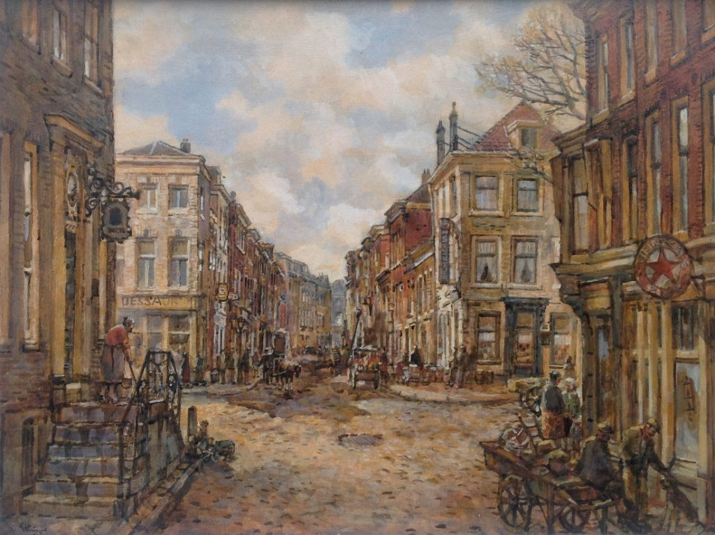 Kunstenaar Borgert Carolus van Ettinger A8145, B.C. van Ettinger Verkocht