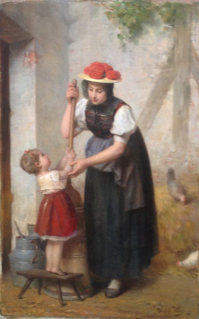 Kunstenaar Adolphe Weisz A8570 - 300, Adolf Weisz,