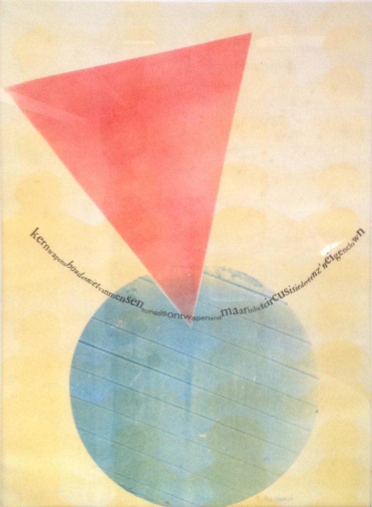 Kunstenaar Maltman A9301, Maltman Kernwapen Aquarel, beeldmaat 59 x 42 cm verkocht