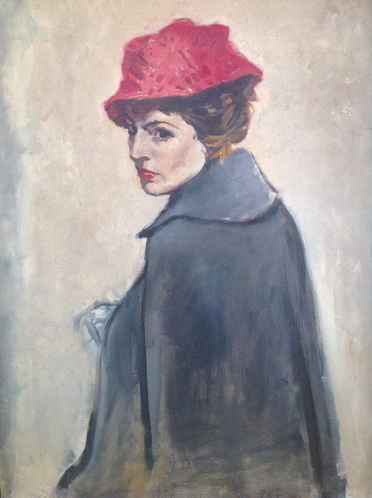 Kunstenaar Johann von Stein A9567-1, Johann von Stein olie op doek, 80 x 60 cm