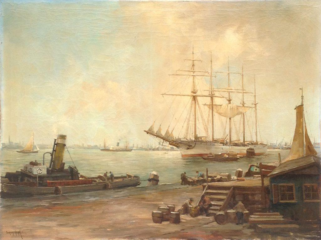 Schilderijen te koop van kunstschilder A9766 C.A. Streefkerk olie op doek, gesigneerd, Expositie Galerie Wijdemeren Breukeleveen