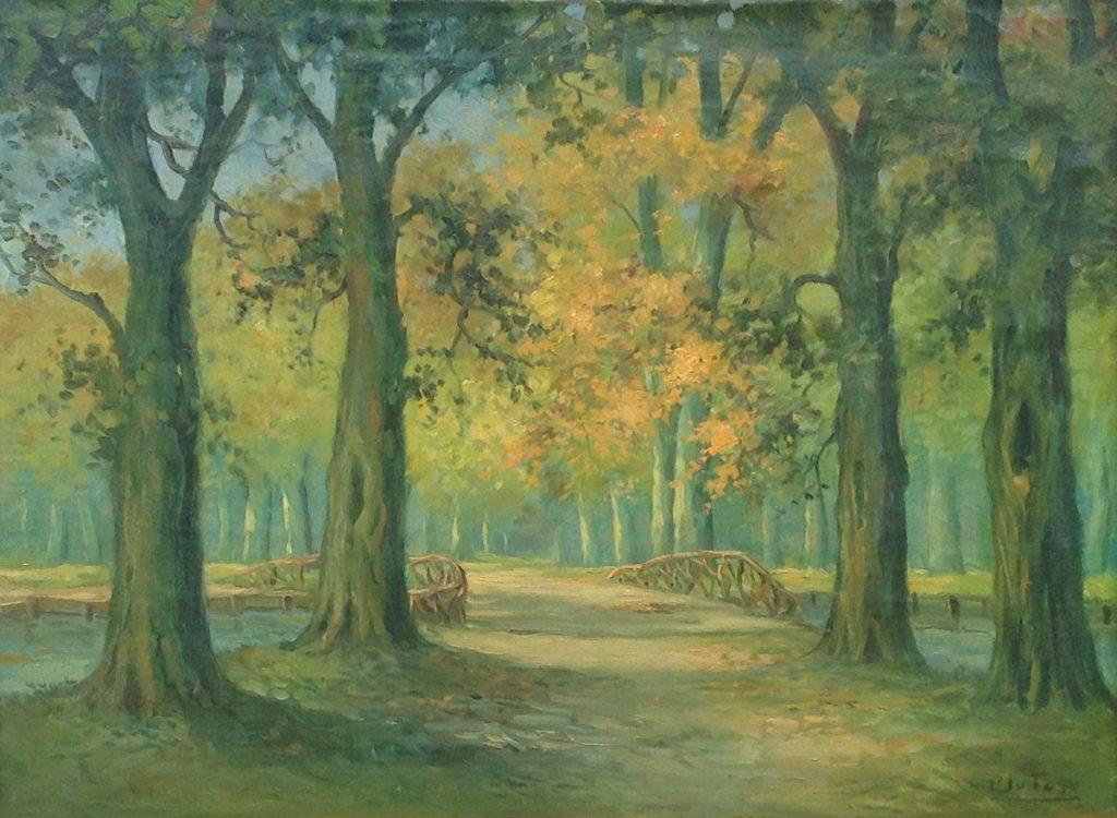 Kunstenaar P.J. van Tol A9770, P.J. van Tol,
