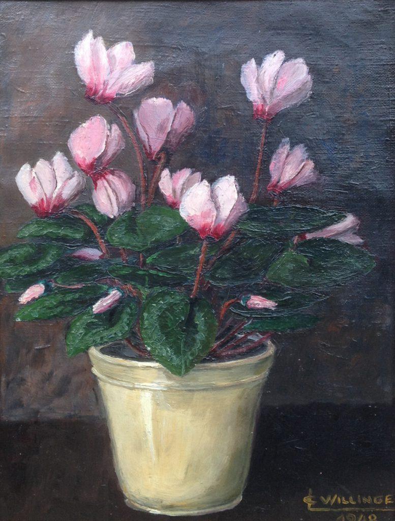 Kunstenaar C. Willinge A9881, C. Willinge