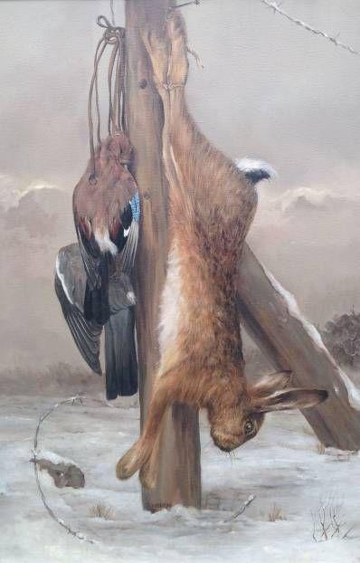 schilderijen te koop van kunstschilder, Dick van Heerde olie op doek, doekmaat 90 x 60 cm, expositie, galerie wijdemeren breukeleveen