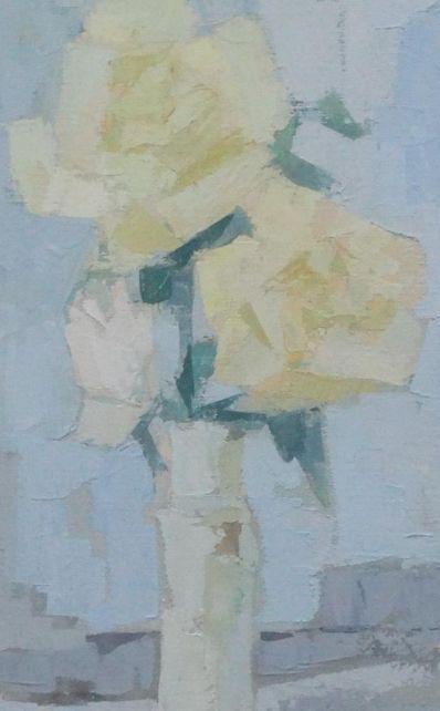 Kunstenaar Jos Zeegers B1435, Jos Zeegers Acryl op papier, 32 x 21 cm