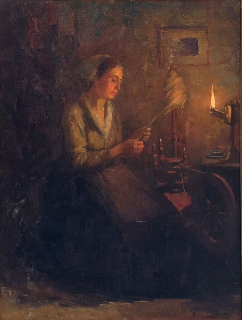 Kunstenaar Max A. Alandt B1715 Max A. Alandt Olie op doek, 47 x 34 cm rechtsonder gesigneerd Max. Alandt Particuliere collectie