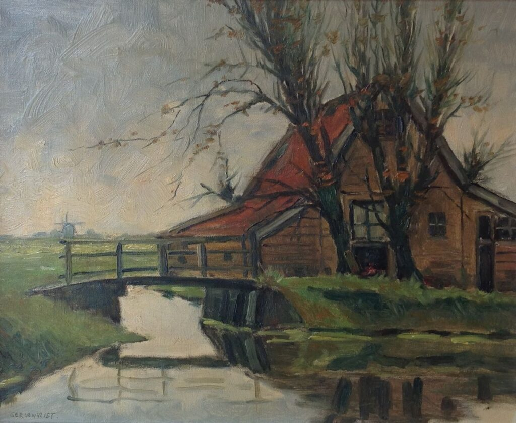 Kunstenaar Gerard van Vliet 29feb20 KV B2341