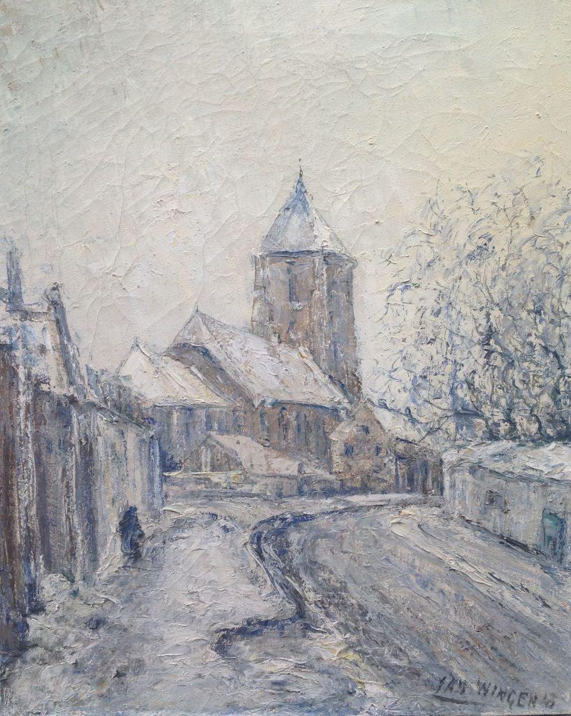 Kunstenaar Jan Wingen