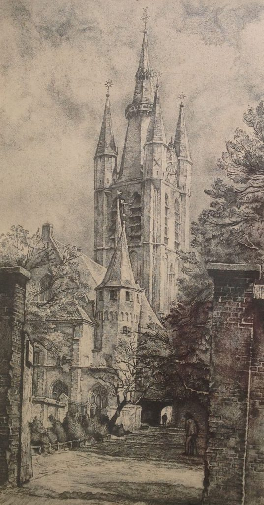 Kunstenaar Willem Hofker B576, Willem Gerard Hofker verkocht
