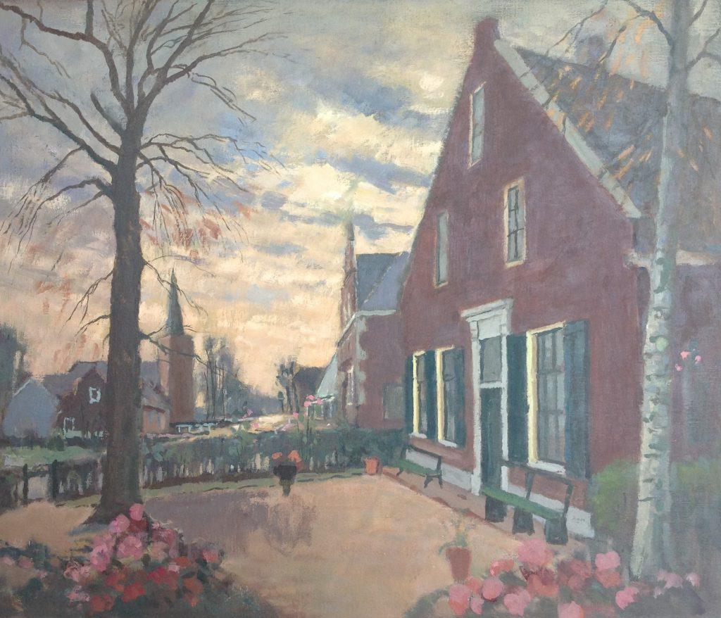 Kunstenaar Willem Fekken nr. B8493, Willem Fekken Kortenhoef