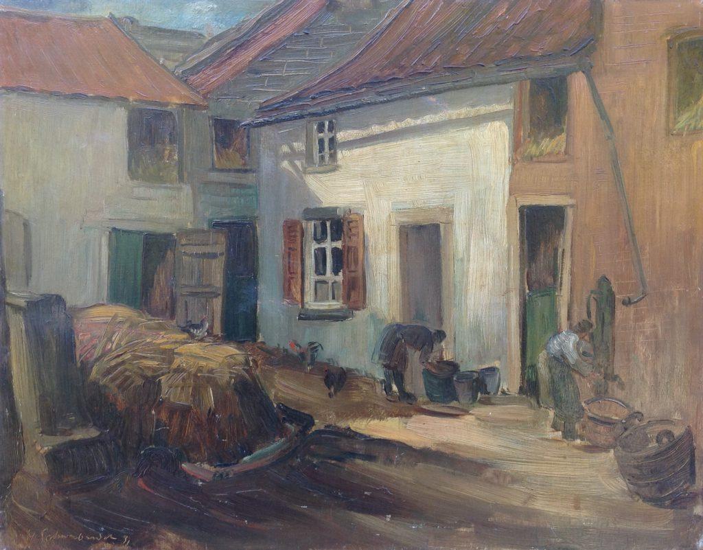 Kunstenaar Henri Schoonbrood B8607, Henri Schoonbrood