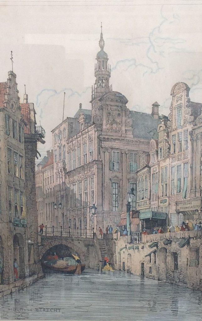 Kunst te koop bij Galerie Wijdemeren, Utrecht, Hotel de Ville