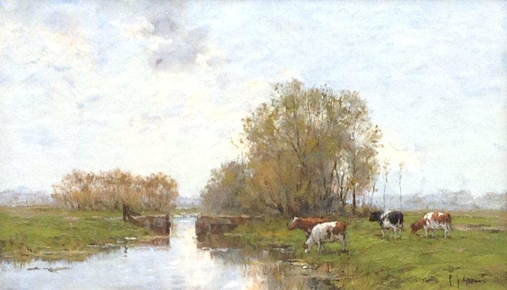 Kunstenaar Frits J. Goosen B8974-1, F.J. Goosen