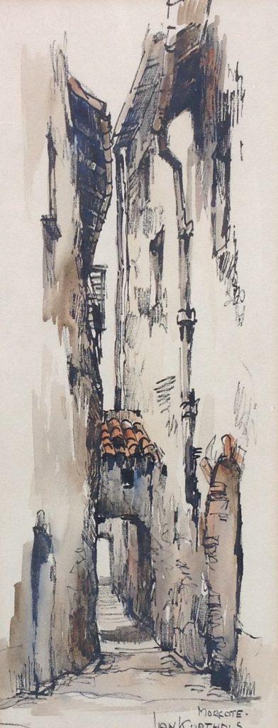 Schilderijen te koop, kunstschilder Jan Korthals aquarel, gesigneerd, expositie Galerie Wijdemeren Breukeleveen