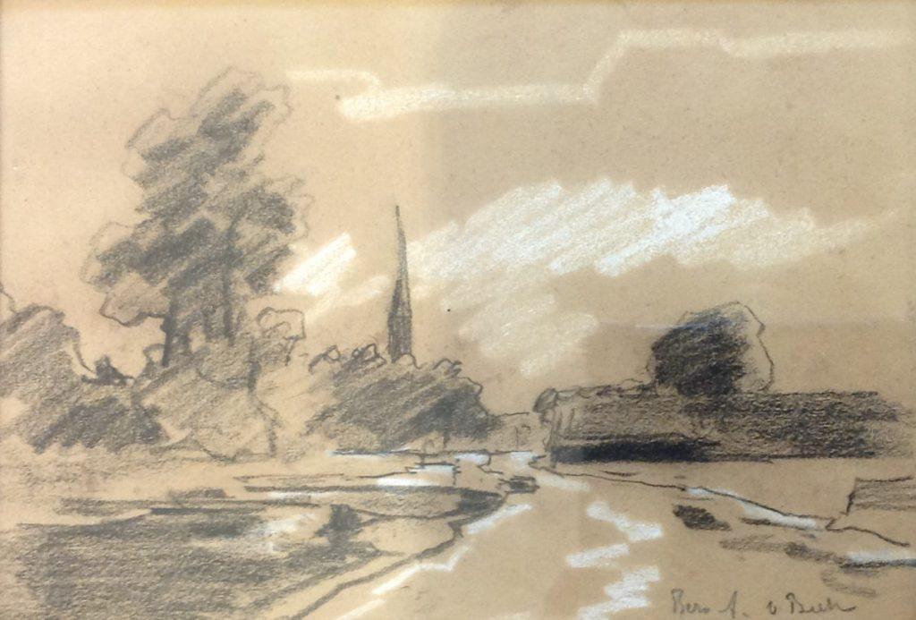 schilderijen te koop van kunstschilder, Bernard van Beek Tekening, Kortenhoef, expositie, galerie wijdemeren breukeleveen