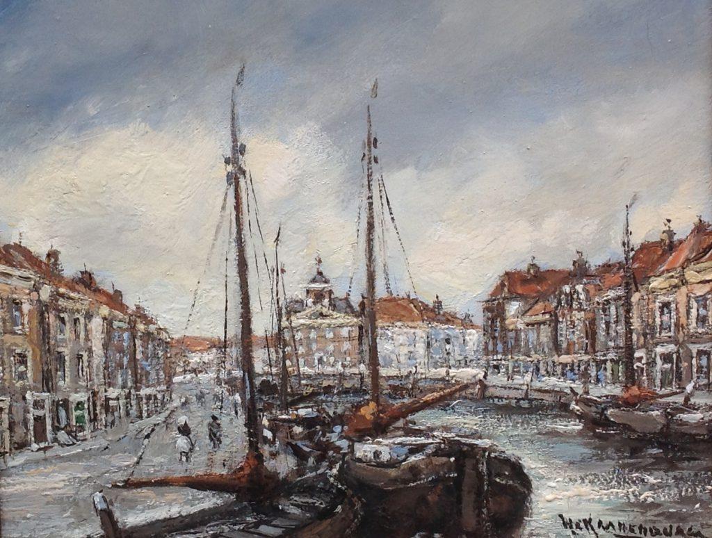 Schilderijen te koop van kunstschilder H.C. Kranenburg, Expositie Galerie Wijdemeren Breukeleveen