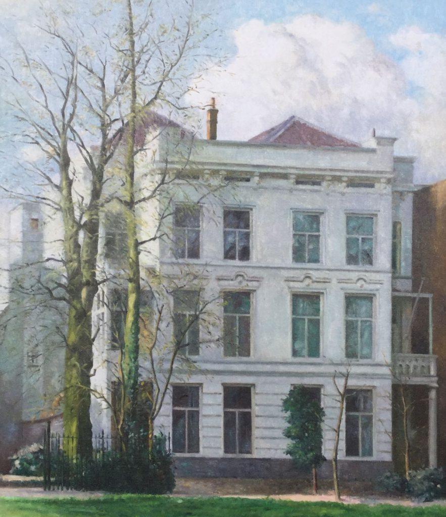 Schilderijen te koop van Kunstschilder, Leendert van Dijk, C2472 Westersingel Rotterdam olie op doek gesigneerd