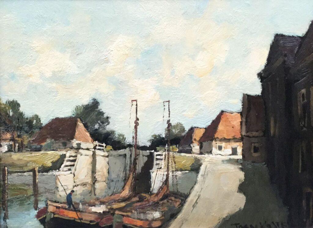 Kunstenaar Antonius Hendrikus Koster C2592, Toon Koster verkocht