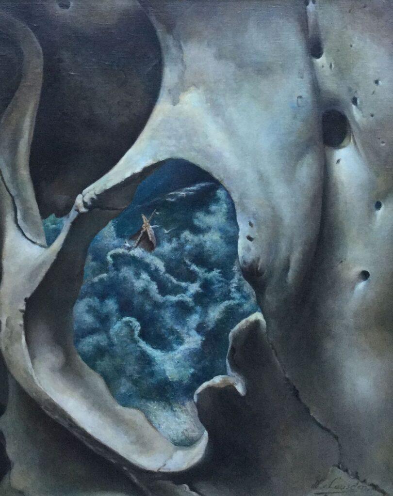 Kunstenaar Willem van Leusden C2673, Willem van Leusden Storm op zee olie op doek, 76 x 61 cm r.o. gesigneerd