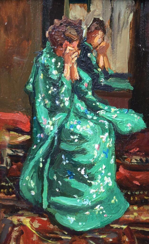 Schilderijen te koop, kunstschilder Sacha Borgen Lindhardt Kimini 3, Expositie Galerie Wijdemeren Breukeleveen