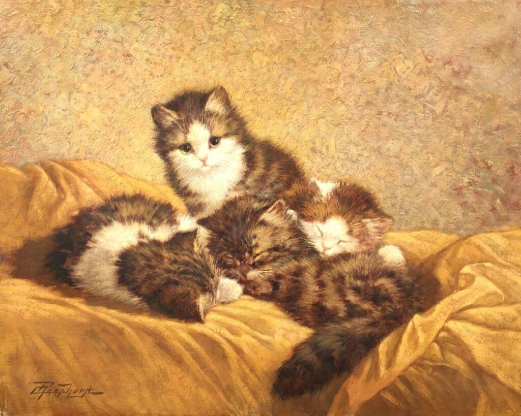 Schilderijen te koop van kunstschilder Cornelis Raaphorst olie op doek, doekmaat 40 x 50 cm, Expositie Galerie Wijdemeren Breukeleveen
