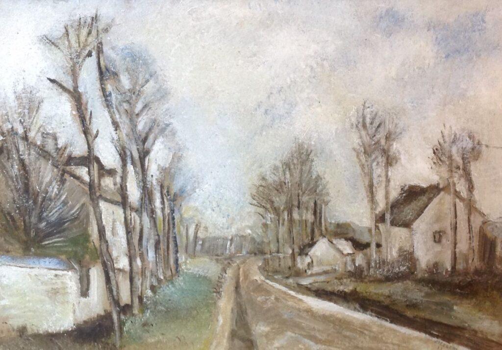 Kunstenaar Evert Slegers C339, Evert Slegers Olie op board, beeldmaat: 49 x 70 cm Rechtsonder gesigneerd
