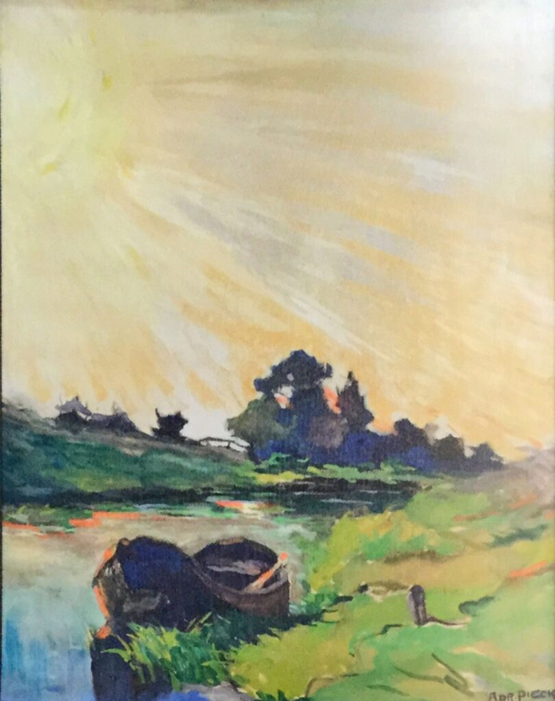 Kunstenaar Adri Pieck verkocht