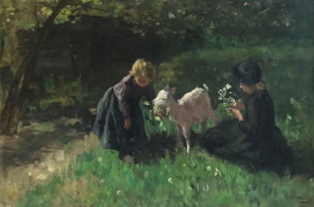 Kunstenaar J.S.H. Kever C4190, Hein Kever verkocht