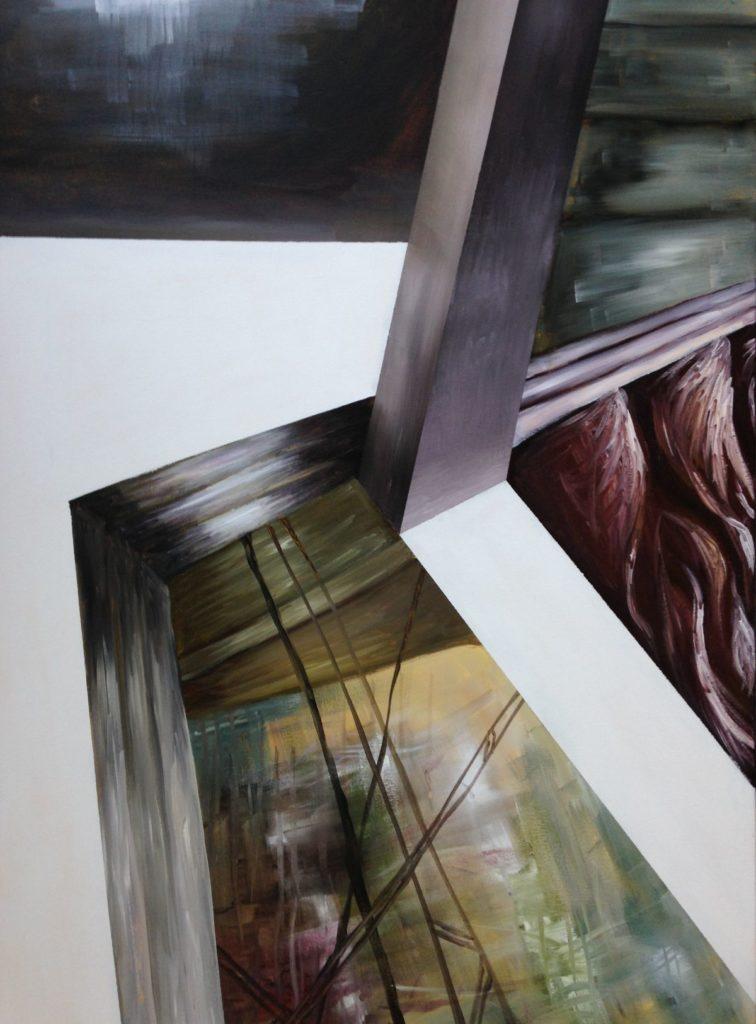 C4744-1 Salam Kadhim Ik spreek de waarheid I acryl op doek, 70 x 100 cm verso gesigneerd, Schilderijen te koop bij Galerie Wijdemeren Breukeleveen