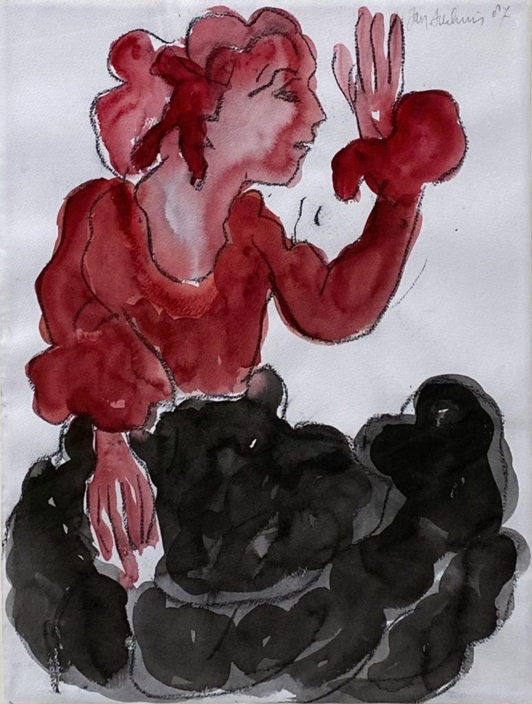 Schilderijen te koop van kunstschilder Jan Sierhuis, Expositie Galerie Wijdemeren Breukeleveen