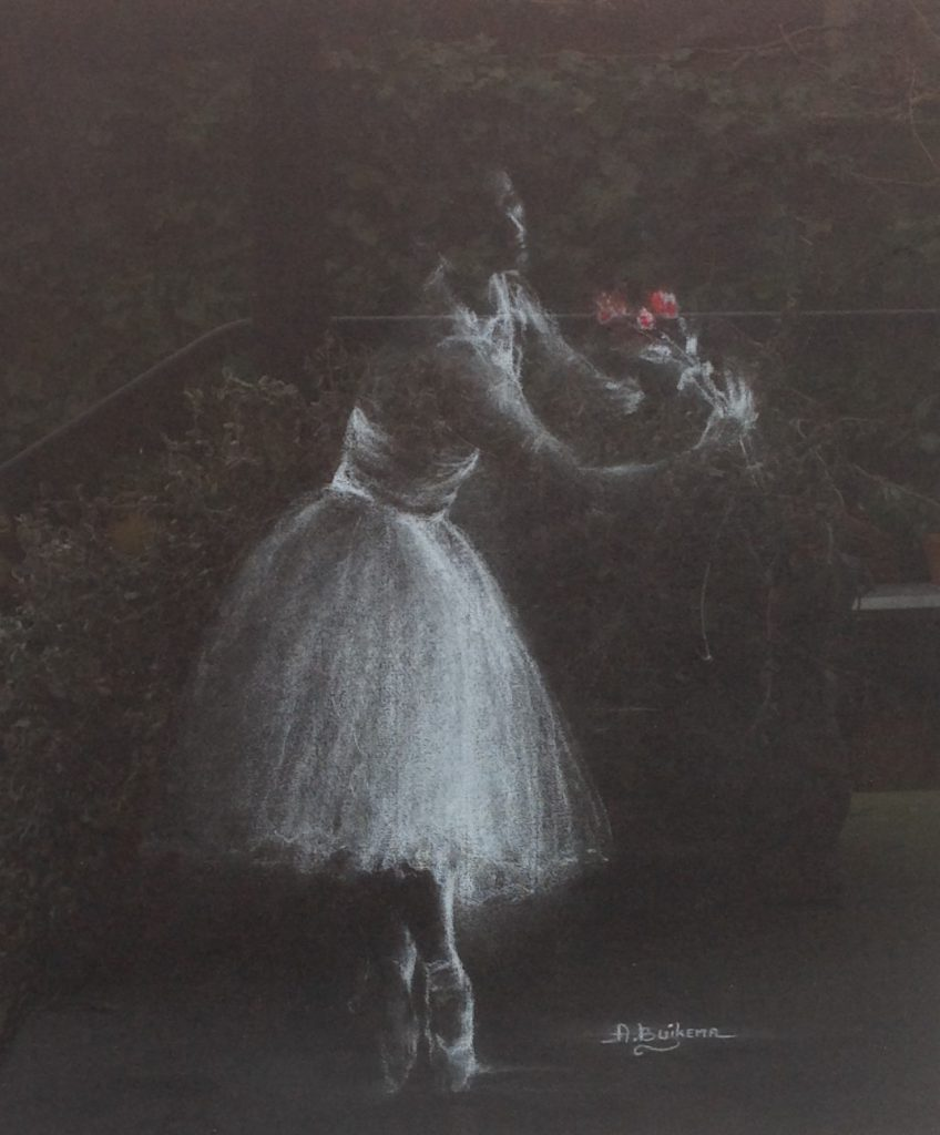 Kunstenaar Albert Buikema nr. C482, Albert Buikema