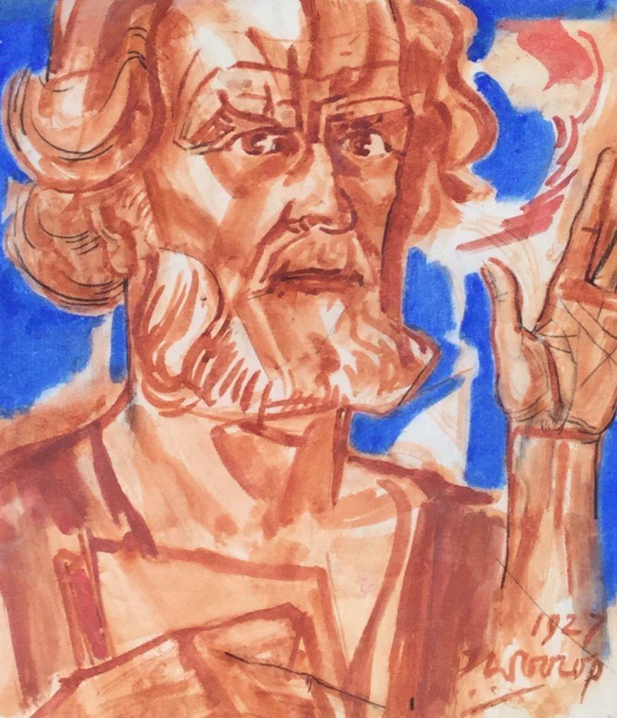 Schilderijen te koop van kunstschilder Jan Toorop, gesigneerd, Expositie Galerie Wijdemeren Breukeleveen