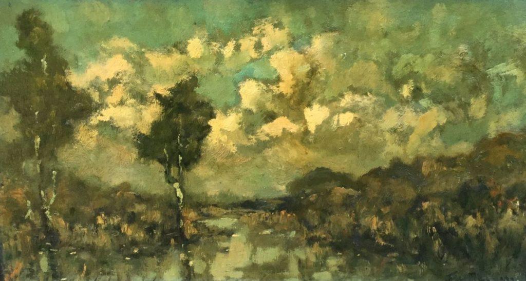 Schilderijen te koop, C4856-7, Expositie Galerie Wijdemeren Breukeleveen