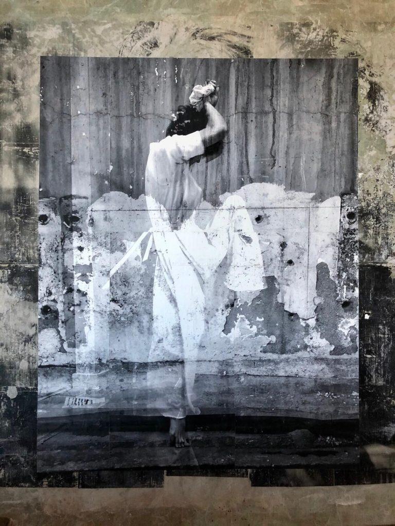 Kunst te koop bij Galerie Wijdemeren van kunstschilder Robbert Fortgens Dance 2 mixed media, 180 x 150 cm