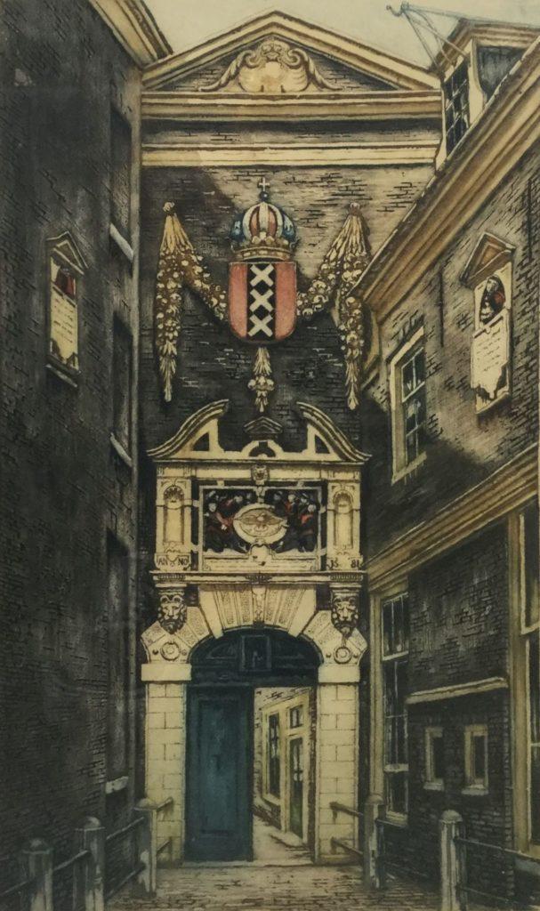 Schilderijen te koop van kunstschilder Cornelis Brandenburg ets, rechtsonder gesigneerd, Expositie Galerie Wijdemeren Breukeleveen