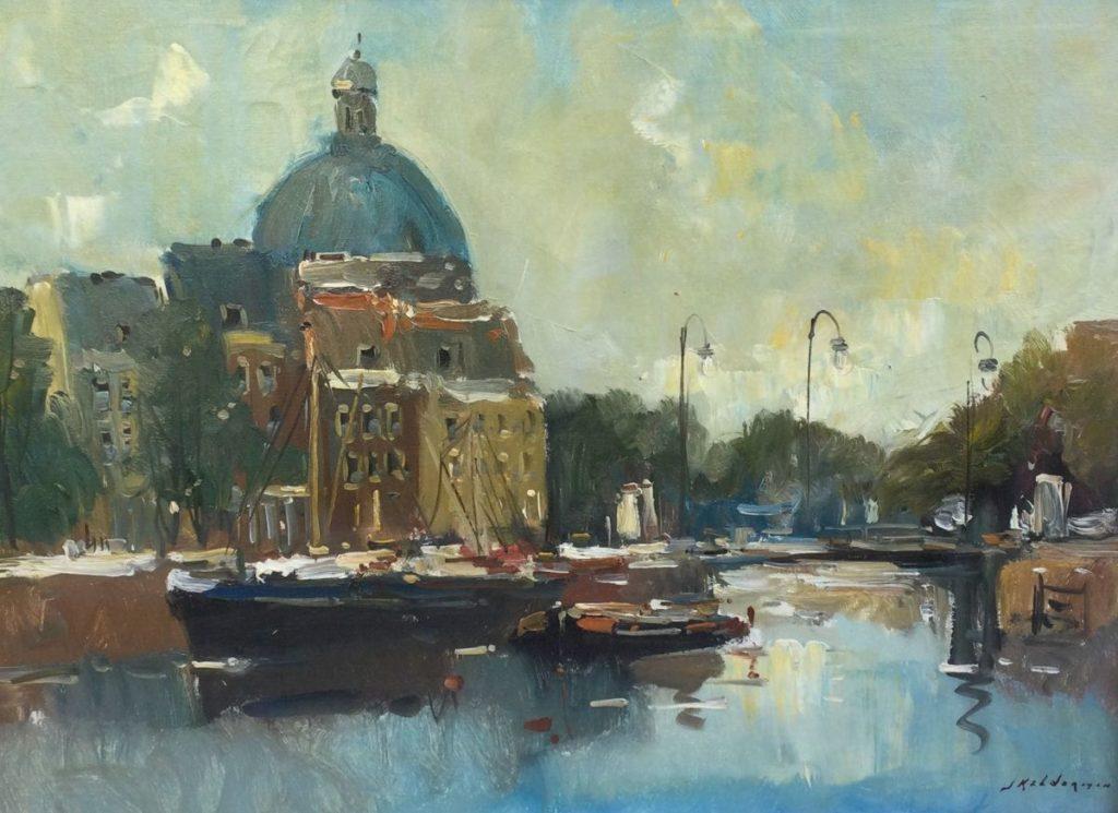 Kunst te koop bij Galerie Wijdemeren van kunstschilder Jan Kelderman