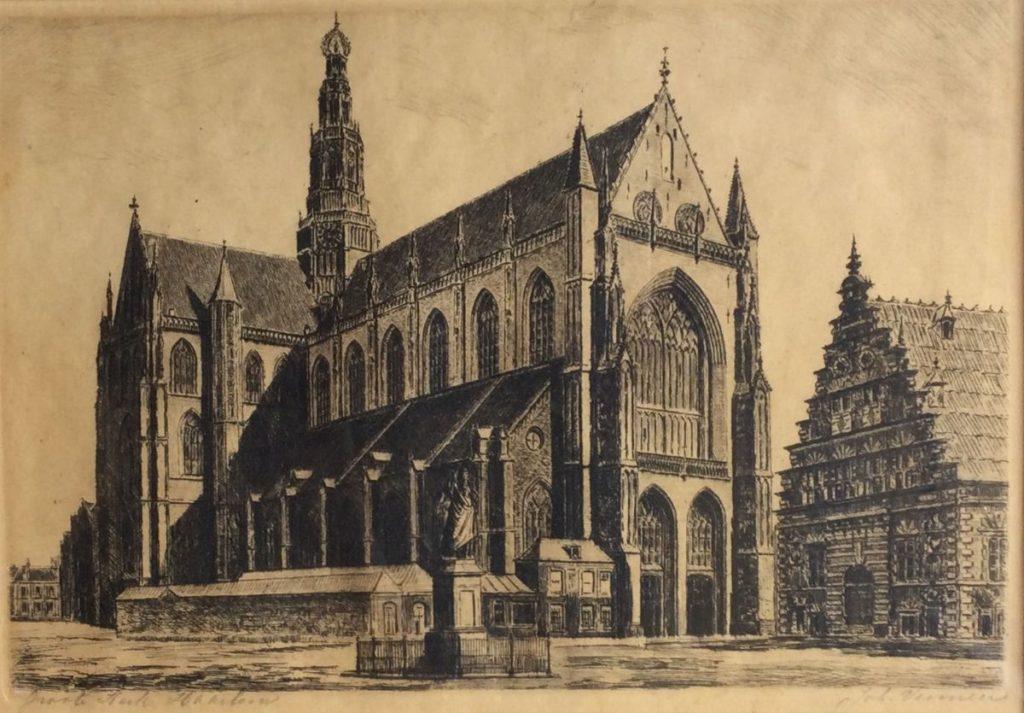 Kunst te koop bij Galerie Wijdemeren, Groote kerk Haarlem