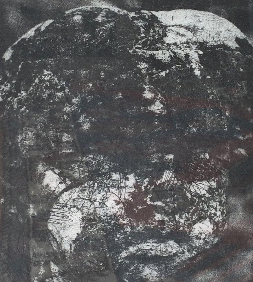 Kunst te koop bij Galerie Wijdemeren van René van Kempen Bild gemengde druktechniek, 32.5 x 25 cm rechtsonder handgesigneerd en gedateerd 93, linksonder oplage 92/100
