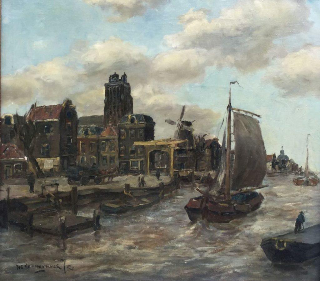 Schilderijen te koop van kunstschilder HC Kranenbrug, Expositie Galerie Wijdemeren Breukeleveen