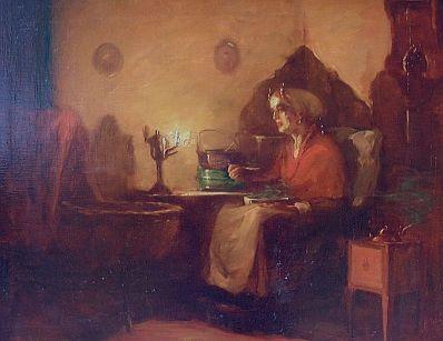 Kunstenaar Max A. Alandt 1832 Max A. Alandt Olie op doek,56 x 70 cm Verkocht