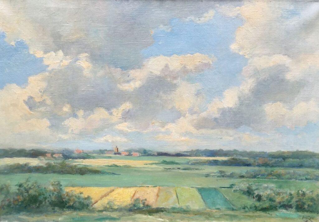 Kunstenaar Abraham van der Zee